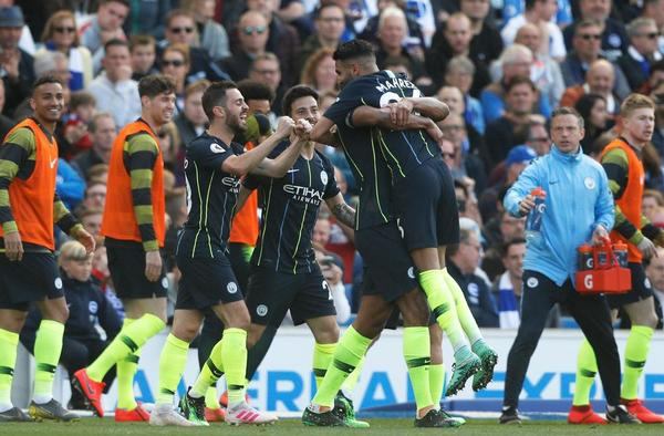 ANGLETERRE, PREMIER LEAGUE, MANCHESTER CITY
